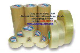 Băng keo dán thùng đóng gói sản phẩm, giá sỉ lẻ cho nhà phân phối