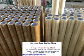 công ty Cao Đông Thịnh sản xuất và phân phối các loại băng keo dán thùng tại Bình Dương